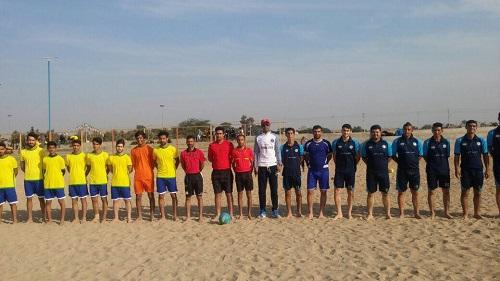 چرخ رقابت های لیگ برتر فوتسال ساحلی خوزستان به حرکت درآمد