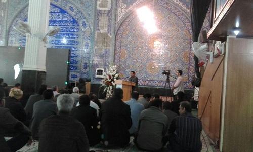 برگزاری مراسم ارتحال حضرت آیت الله هاشمی رفسنجانی در بندر امام خمینیره+عکس